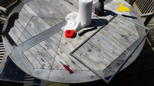 Skylight with secondary seal failure. Cape Cod, Massachusetts.