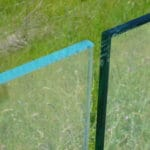 Thin Glass Pattern Shower Enclosures - Edge of Starphire vs Clear