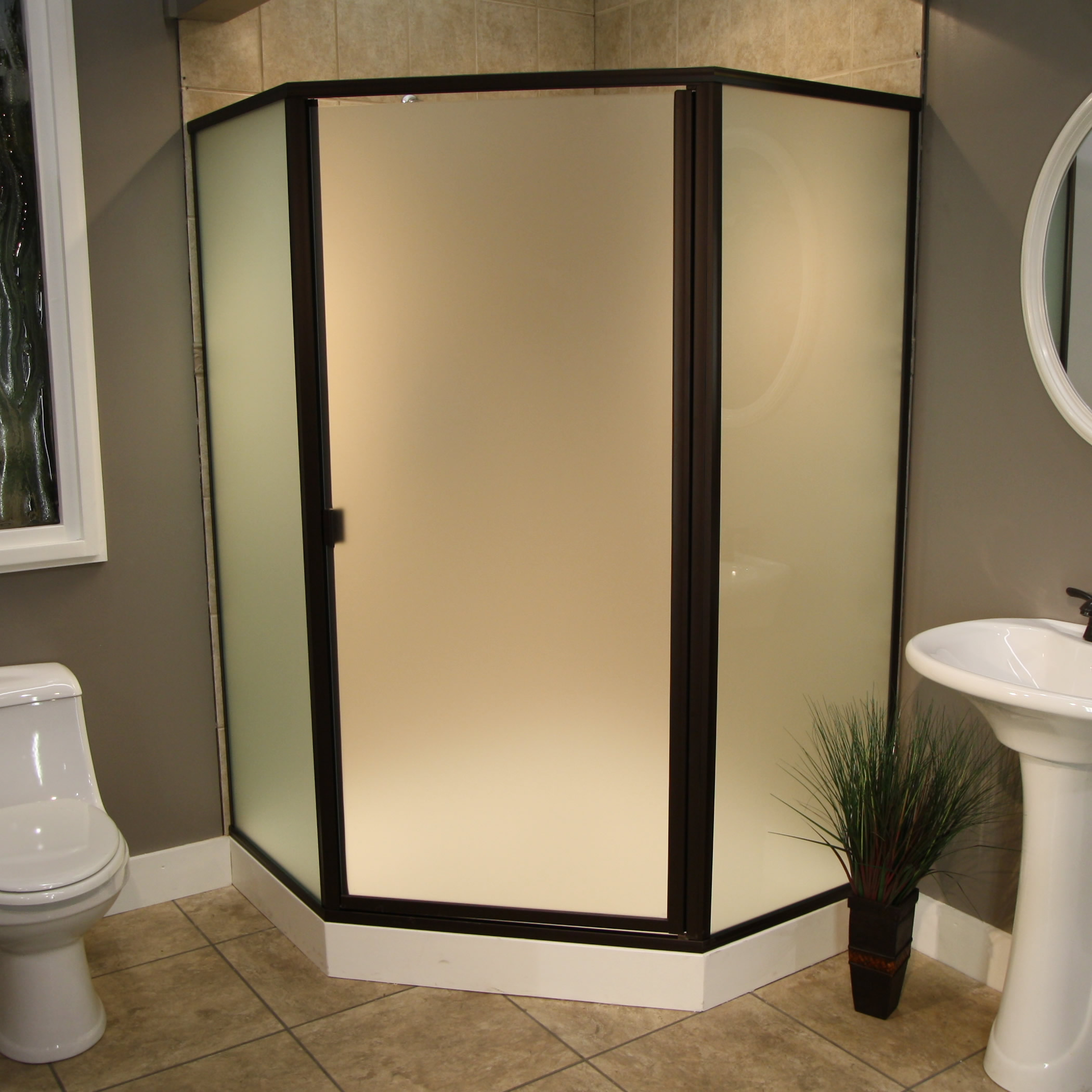 Shower Enclosures - Cardinal Series - CDNEO - ORB-Satin