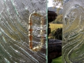 Cast Glass Shower Enclosure - Vineyard - Storm
