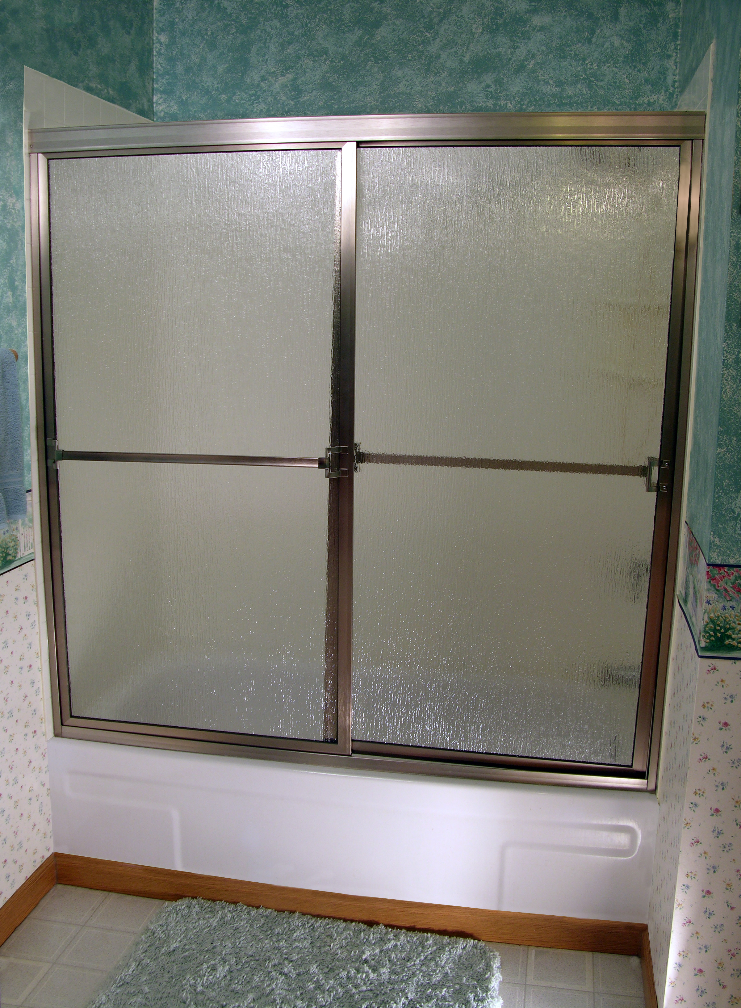 Shower Enclosure, Craftsman Sliding Series - BN-Rain 01