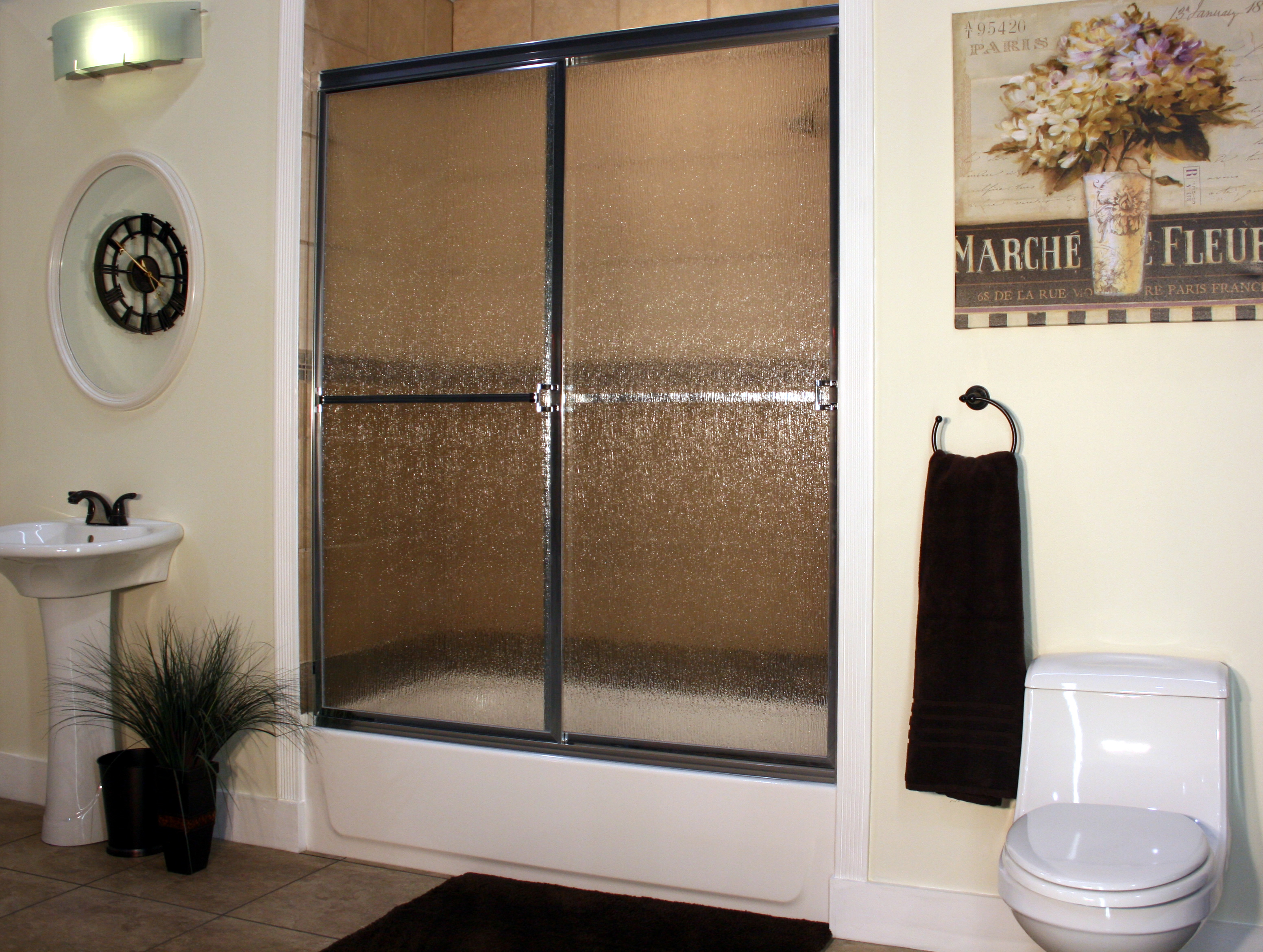 Shower Enclosure, Craftsman Sliding Series - CH-Rain 01