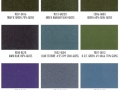 Shower Enclosure Powder Coating Finish Options: Various Gloss Colors