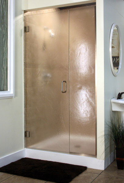 Heavy Glass Pattern Shower Enclosures - Lunar, shower enclosure example