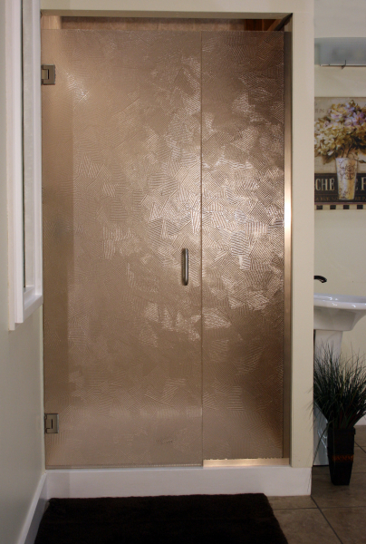 Heavy Glass Shower Enclosure - Heavy Brush, shower enclosure example