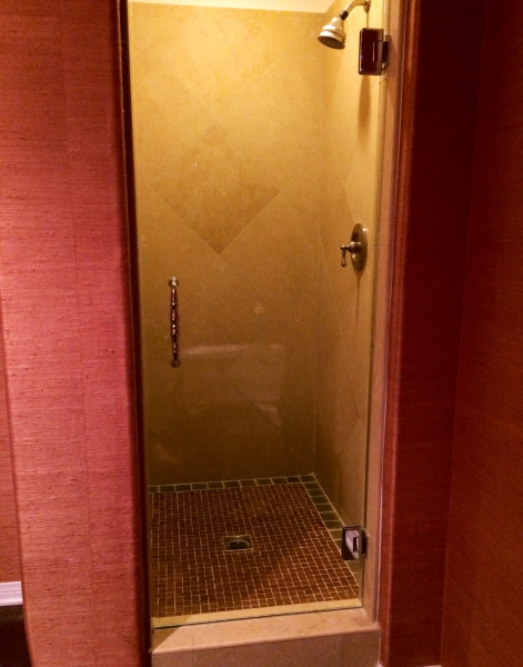 Heavy Glass Shower Enclosures -Single Heavy Door