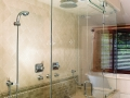 Heavy Glass Shower Enclosures -Transom Example