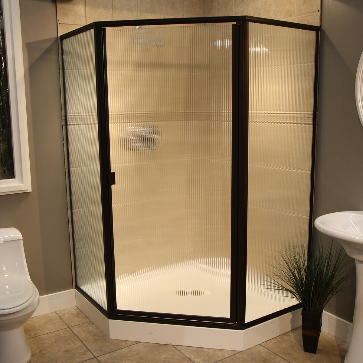 Shower Enclosure Thin Glass Pattern Examples Pioneer Glass