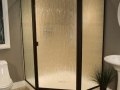 Thin Glass Pattern Shower Enclosures - Bamboo, shower enclosure example