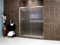 Thin Glass Pattern Shower Enclosures - Rain, shower enclosure example