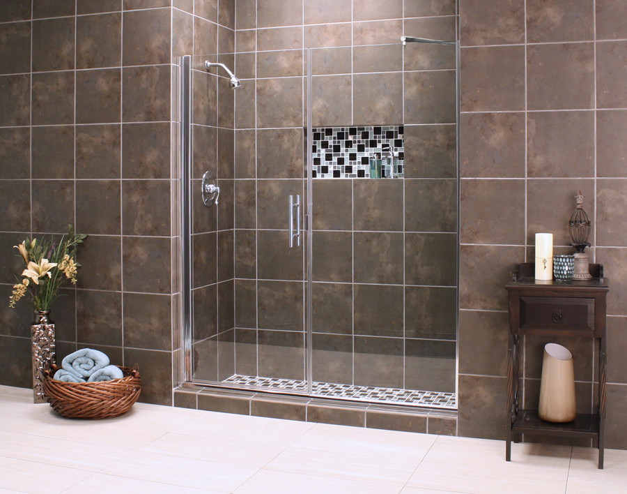 Shower Enclosure, Uptown Series - Uptown Grand with Support bar