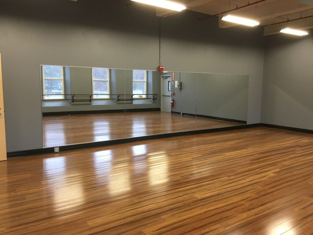 Dance Studio Mirror Installation_9