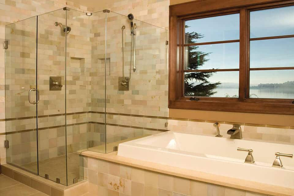 Custom Frameless Bathroom Shower Door Replacement Quality