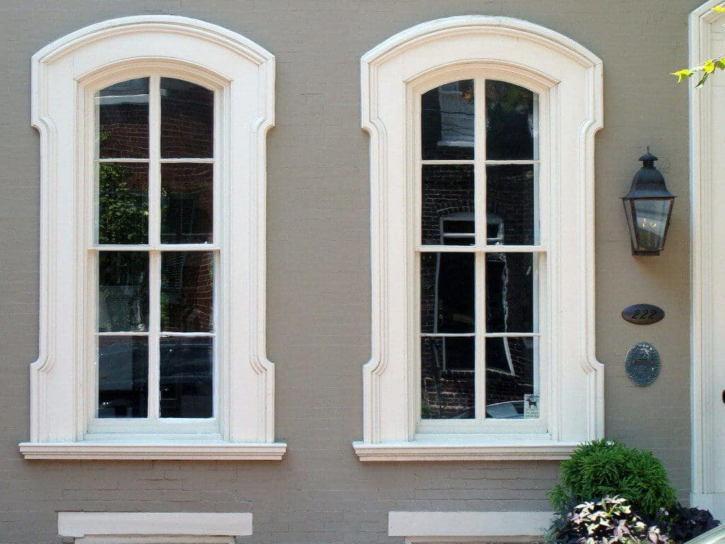 Alexandria-Old-Town-Brownstone-Window