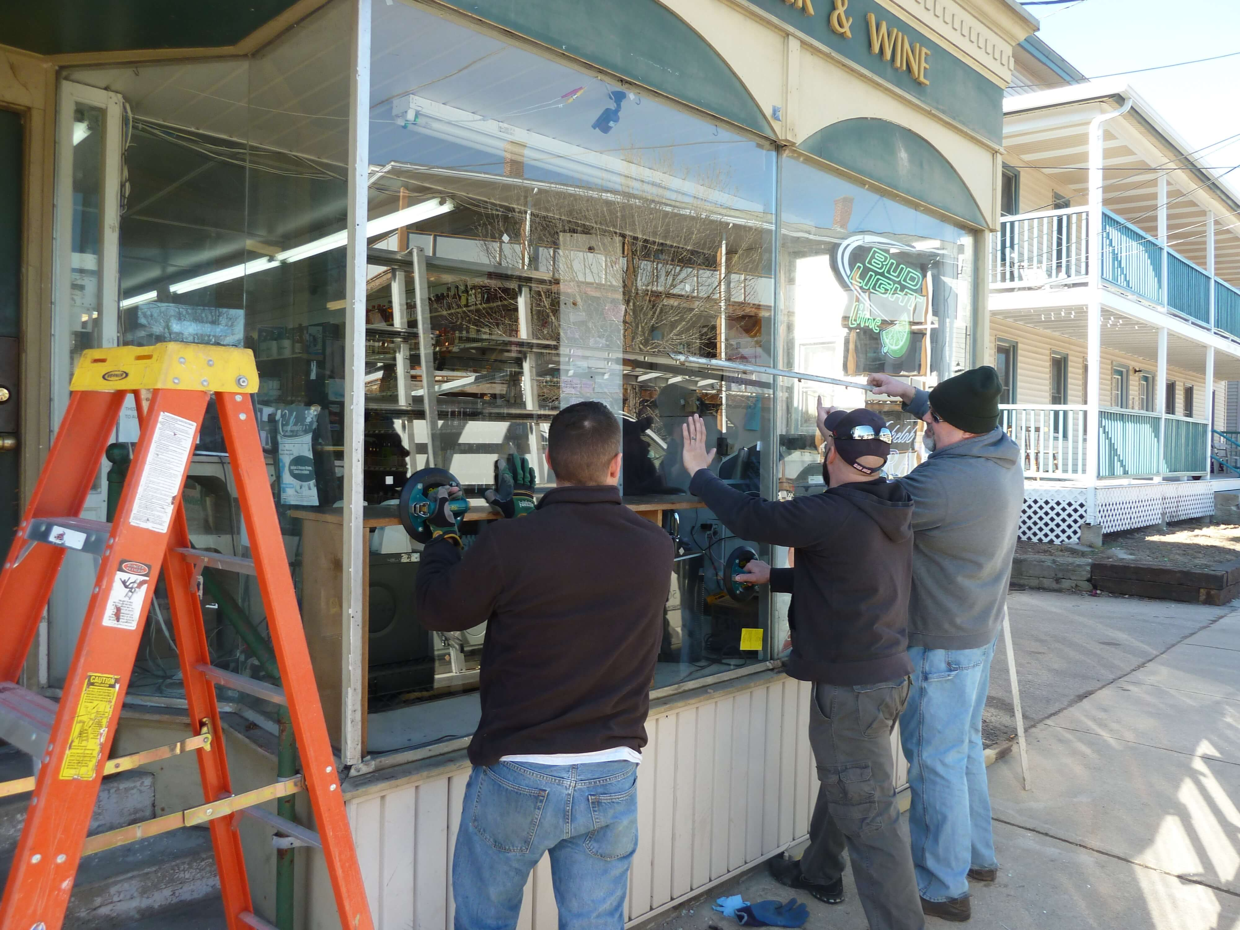 Storefront Commercial Glass Installation Pioneer Glass