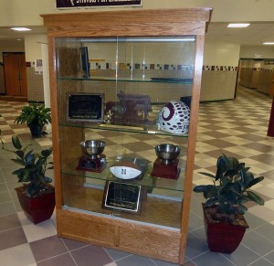 Trophy Glass Case