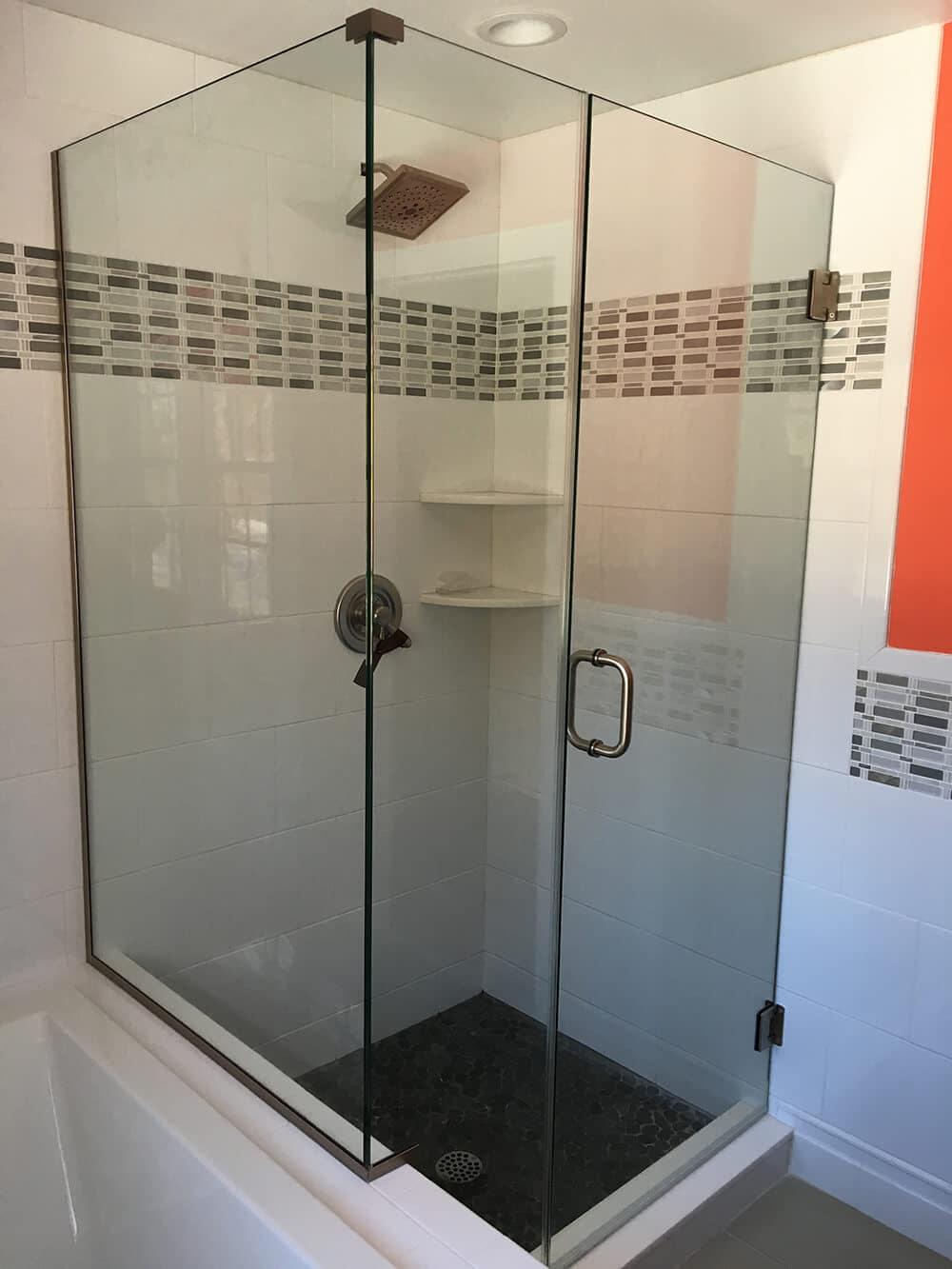 Semi-Frameless Shower Enclosure | Pioneer Glass