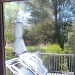 Patio door condensation glass