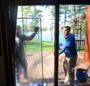 Exterior door glass replacement insulated glass panels door replacing a sliding patio door fogged glass panel planetlyrics Images