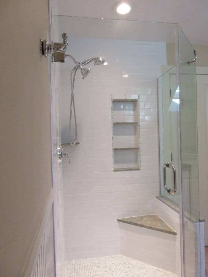 Neo-Angle Shower Enclosures: Space Saving Corner Showers   Pioneer Glass