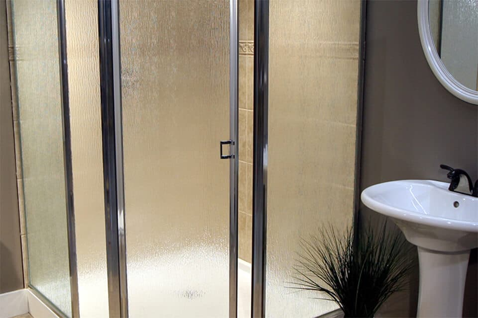 Framed Shower Enclosure Craftsman Chrome Rain