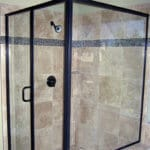 Cardinal Series, Swing enclosure in Oil Rubbed Bronze.