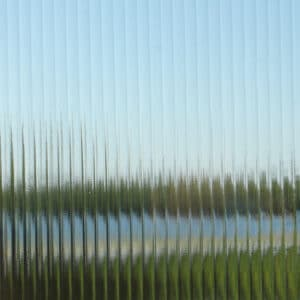 Pattern Glass: Reeded