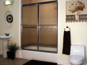 Shower Enclosure, Craftsman Sliding Series - CH-Rain 01