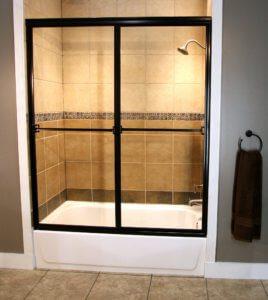 Shower Enclosure, Craftsman Sliding Series - RB-Clear 01