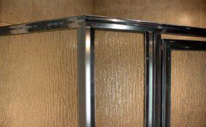 Shower Enclosure, Craftsman Swing Series - Chrome-Rain - Detail 01