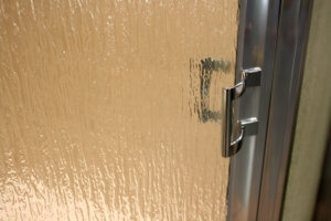 Shower Enclosure, Craftsman Swing Series - Chrome-Rain - Detail 2