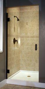 Shower Enclosure, TruFit Series - Roman Bronze