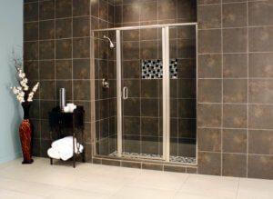 Shower Enclosures - Cardinal Series - CDII - Satin_Clear_01