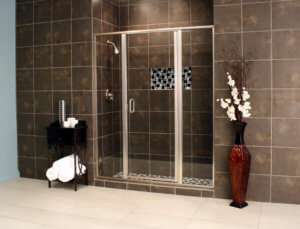 Shower Enclosures - Cardinal Series - CDII - Satin_Clear_02