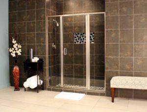 Shower Enclosures - Cardinal Series - CDII - Satin_Clear_03