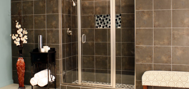 Shower Enclosures - Cardinal Series - CDII - Satin_Clear_03