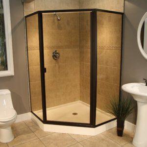 Shower Enclosures - Cardinal Series - CDNEO - ORB-Bronze