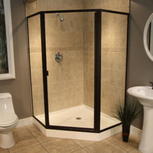 Shower Enclosures - Cardinal Series - CDNEO - ORB-Clear