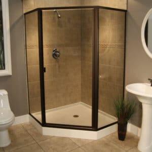 Shower Enclosures - Cardinal Series - CDNEO - ORB-Smoke