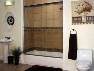 Shower Enclosures - Euro Series - ETE - CH-Clear - ShadowBar 01
