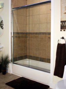 Shower Enclosures - Euro Series - ETE - CH-Clear - ShadowBar 02