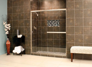 Shower Enclosures - Euro Series - LESE BrushedNickel Clear 01