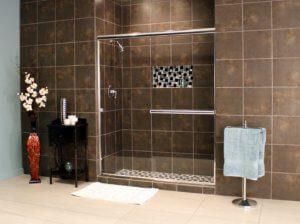 Shower Enclosures - Euro Series - LESE Chrome Clear 02