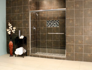 Shower Enclosures - Euro Series - TESE Chrome Clear 03