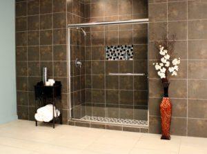 Shower Enclosures - Euro Series - TESE Chrome Clear 04