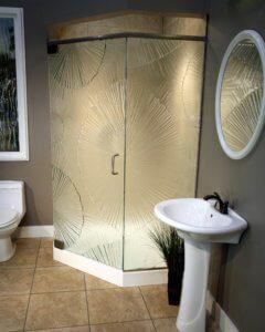 Cast Glass Shower Enclosure - Neo - Sensu
