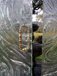 Cast Glass Shower Enclosure - Vineyard - Storm