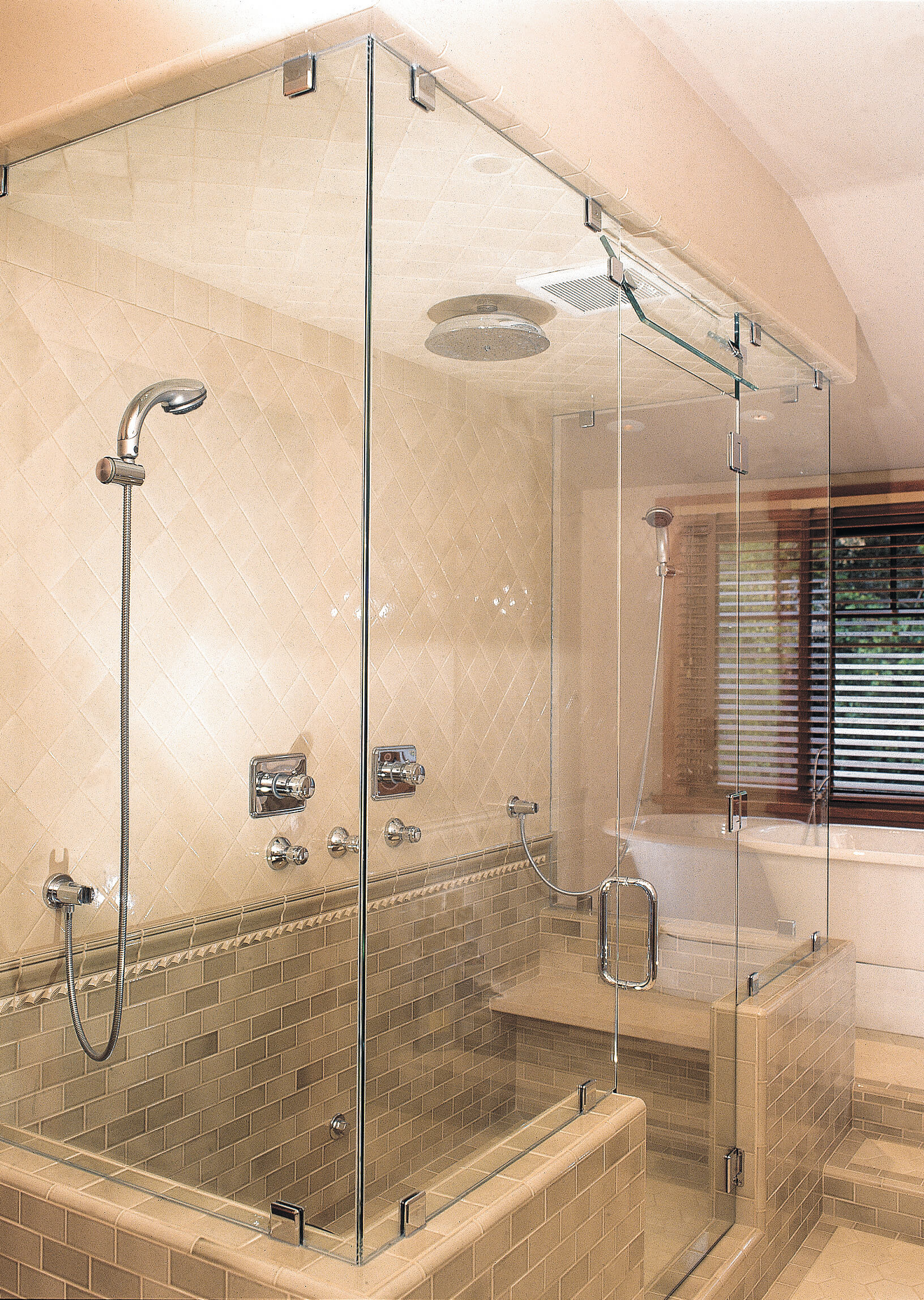 Shower Enclosure Heavy Glass Pioneer Glass